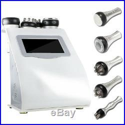5 in 1 Ultrasonic Unoisetion Cavitation Slimming Machine Vacuum Body Fat Burner