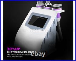 5 in 1 Unoisetion Ultrasonic Cavitation Slimming Machine Vacuum Body Fat Burner