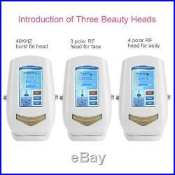 5 in 1 Vacuum Ultrasonic Cavitation Radio Frequency RF Body Massager Machine NEW