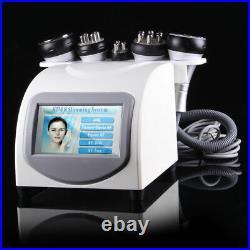 5in1 40K Cavitation Ultrasonic Multipolar RF Slim Vacuum Skin Tightening Machine