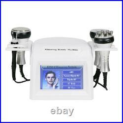 5in1 40K Ultrasonic Cavitation Multipolar RF Vacuum Body Slim Shaping Machine