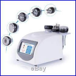 5in1 40K Vacuum Ultrasonic Cavitation Machine Anti Cellulite Weigh Loss Beauty
