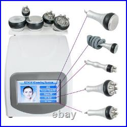 5in1 Cavitation Ultrasonic RF Vacuum Spa Cellulite Removal Body Slimming Machine