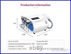 5in1 Cavitation Ultrasonic Vacuum RF Body Massage Sculpting Slimming Spa Machine
