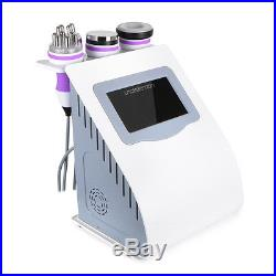 5in1 RF Radio Frequency Cavitation Vacuum Ultrasonic Tripolar Slimming Machine
