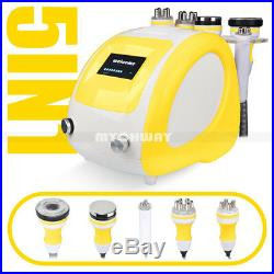 5in1 RF Ultrasonic Cavitation Radio Frequency Vacuum Body Contour Slim Machine