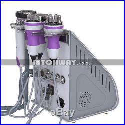 5in1 Tripolar RF Vacuum Cavitation Cellulite Removal Ultrasonic Slimming Machine