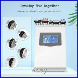 5in1 Ultrasonic 40K Cavitation Liposuction Radio Frequency RF Slimming Machine