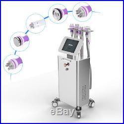 5in1 Ultrasonic 40K Cavitation RF Vacuum Body Shaping Machine Dermabrasion Gift
