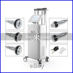 5in1 Ultrasonic 40K Cavitation Radio Frequency RF Suction Slimming Machine CE