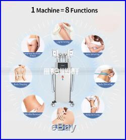 5in1 Ultrasonic Cavitation RF Fat Freezing Cooling Vacuum Body Shapping Machines