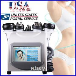 5in1 Ultrasonic Cavitation RF Radio Frequency Slim Machine Vacuum 40K Spa Salon