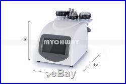 5in1 Ultrasonic Cavitation RF Radio Frequency Vacuum Cellulite Slimming Machine