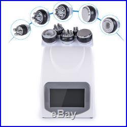 5in1 Ultrasonic Cavitation RF Radio Frequency Vacuum Slimming Cellulite Machine