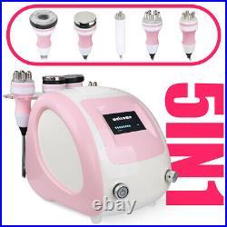 5in1 Ultrasonic Cavitation RF Vacuum Cellulite Body Slimming Anti Aging Machine