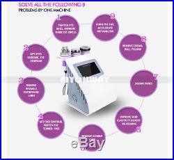 5in1 Ultrasonic Cavitation Radio Frequency Slim Machine Vacuum Body fat burner
