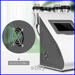 5in1 Ultrasonic Cavitation Radio Frequency Slimming Body Beauty Machine Vacuum