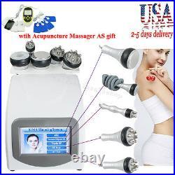 5in1 Ultrasonic Cavitation Radio Frequency Vacuum Body Slimming Machine Anti Fat