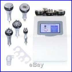 5in1 Ultrasonic Cavitation Radio Frequency Vacuum Cellulite Machine Slim Machine