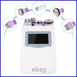 5in1 Ultrasonic Cavitation Radio Frequency Vacuum RF Slimming Skin Care Machine