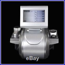 5in1 Ultrasonic Cavitation Radio Frequency Vacuum Suction RF Slimming Machine