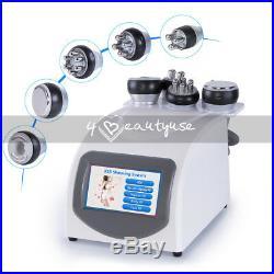 5in1 Ultrasonic Cavitation Vacuum RF Body Shaping Slimming Fat Loss Machine Spa