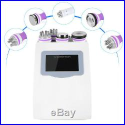 5in1 Ultrasonic Cellulite Slimming Cavitation RF Radio Frequency Vacuum Machine