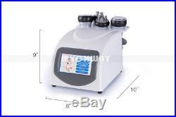 5in1 Ultrasonic Vacuum 40K Cavitation Tripolar Radio Frequency Slimming Machine