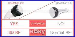 5in1 Vacuum Cavitation Ultrasonic RF Radio Frequency Cellulite Removal Machine