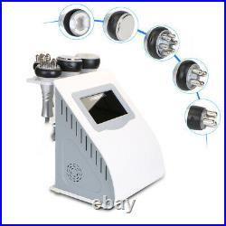 5in1 Vacuum Liposuction Slimming Ultrasonic Cavitation Radio Frequency Machine
