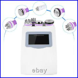 5in1 Vacuum Ultrasonic Cavitation Machine Rf Face Body Slimming Machine Fat Loss