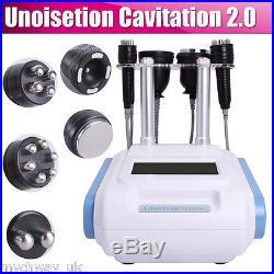 5in1 Vacuum Ultrasonic Cavitation Radio Frequency RF Slimming Cellulite Machine