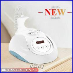 60K Ultrasonic Cavitation Machine Body Sculpting Fat Burning Ultrasound Massager