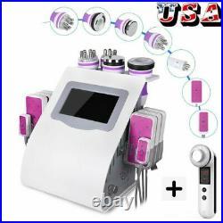 6IN1 Cavitation Machine Ultrasonic RF Vacuum Slimming Machine Fat Loss Contour