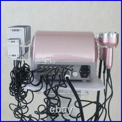 6IN1 Cavitation Ultrasonic RF Vacuum Lipo Laser Slimming Body Shaper Machine USA