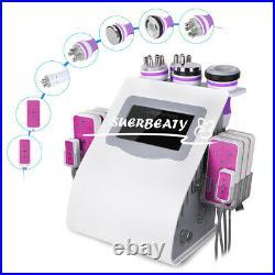6IN1 Ultrasonic 40K Cavitation Machine Weight Loss Body Slimming Machine Contour