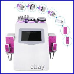 6IN1 Ultrasonic Cavitation Machine RF Vacuum Slimming Machine Cellulite Contour