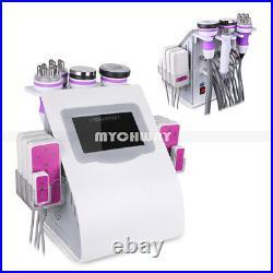 6IN1 Ultrasonic Cavitation Radio Frequency RF Vacuum Slimming Cellulite Machine
