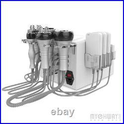 6IN1 Vacuum Ultrasonic Cavitation Radio Frequency RF Laser Body Slimming Machine