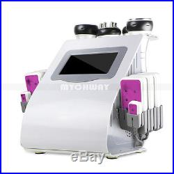 6In1 40k Cavitation Ultrasonic Fat Slimming RF Vacuum Radio Frequency Machine