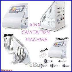 6In1 40k Cavitation Ultrasonic Fat Slimming RF Vacuum Radio Frequency Machine US