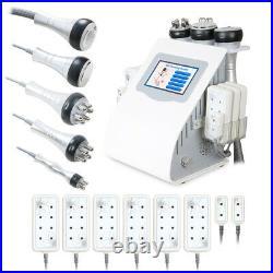 6In1 Ultrasonic 40K Cavitation Machine Vacuum RF Slimming Machine Laser Beauty