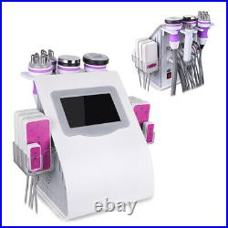 6-1 Cavitation Radio Frequency RF Vacuum Slimming Cellulite Ultrasonic Machine
