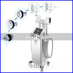 6-1 Ultrasonic Cavitation RF Slim Machine Cold Cooling Vacuum Body Care Machine