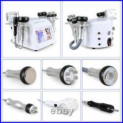 6-1 Ultrasonic Cavitation RF Vacuum Radio Frequency Body Slimming Beauty Machine
