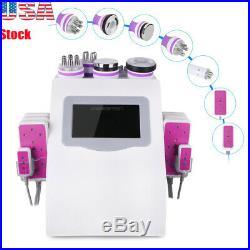 6-1 Ultrasonic Cavitation Vacuum RF Anti Weight Skin Tightening Slimming Machine