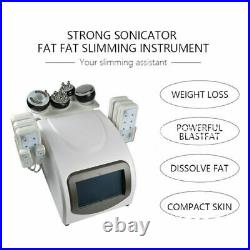 6 IN 1Vacuum Ultrasonic Cavitation Radio Frequency RF Lipo Body Slimming Machine