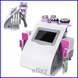 6 IN 1 Spa Vacuum Ultrasonic Cavitation Radio Frequency RF Body Slimming Machine