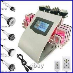 6 In1 40K Cavitation Ultrasonic RF Vacuum Full Body Slimming Machine Fat Removal