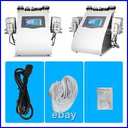 6 In 1 40K Ultrasonic Cavitation Vacuum RF Laser 8 Pads Lipo Slimming Machine